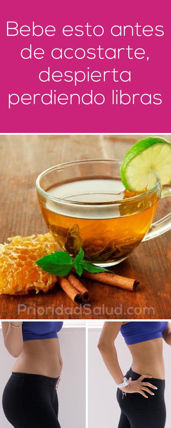 Bebe esto antes de acostarte, depierta perdiendo libras #perderpeso #adelgazar