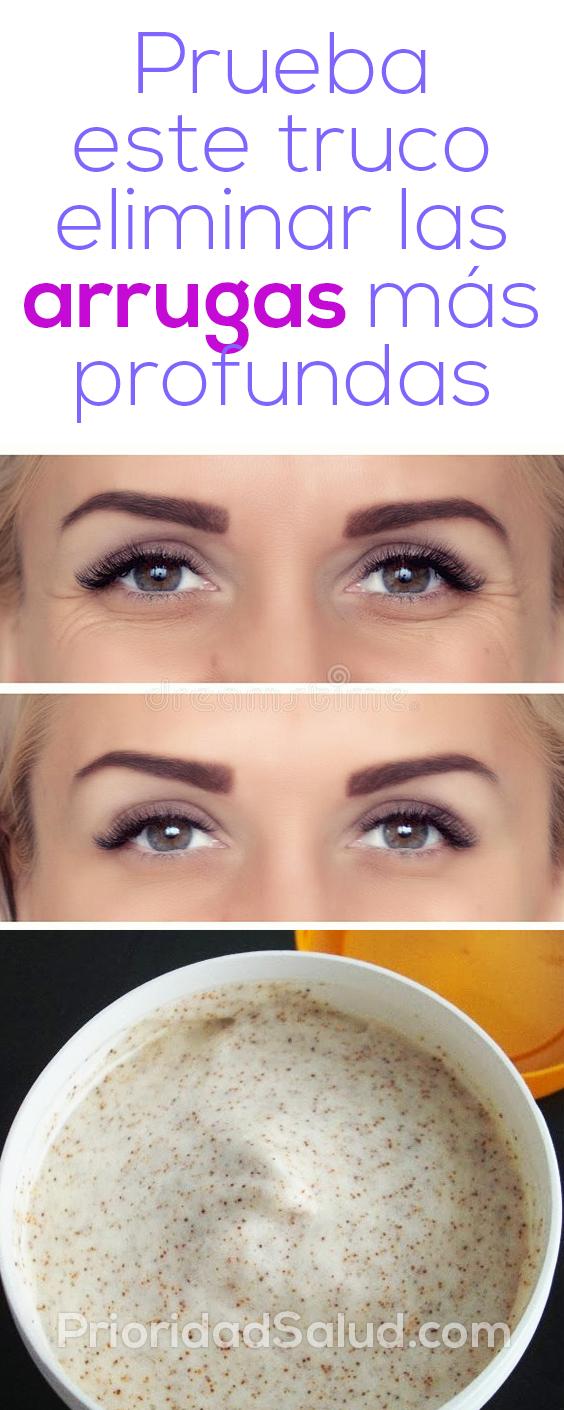 Prueba este truco para eliminar las arrugas más profundas #piel #arrugas #eliminar