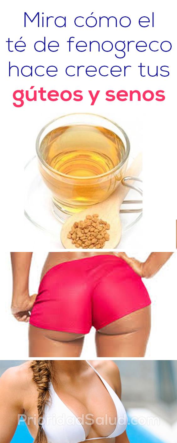 Mira como el te de fenogreco hace crecer tus guteos y senos'