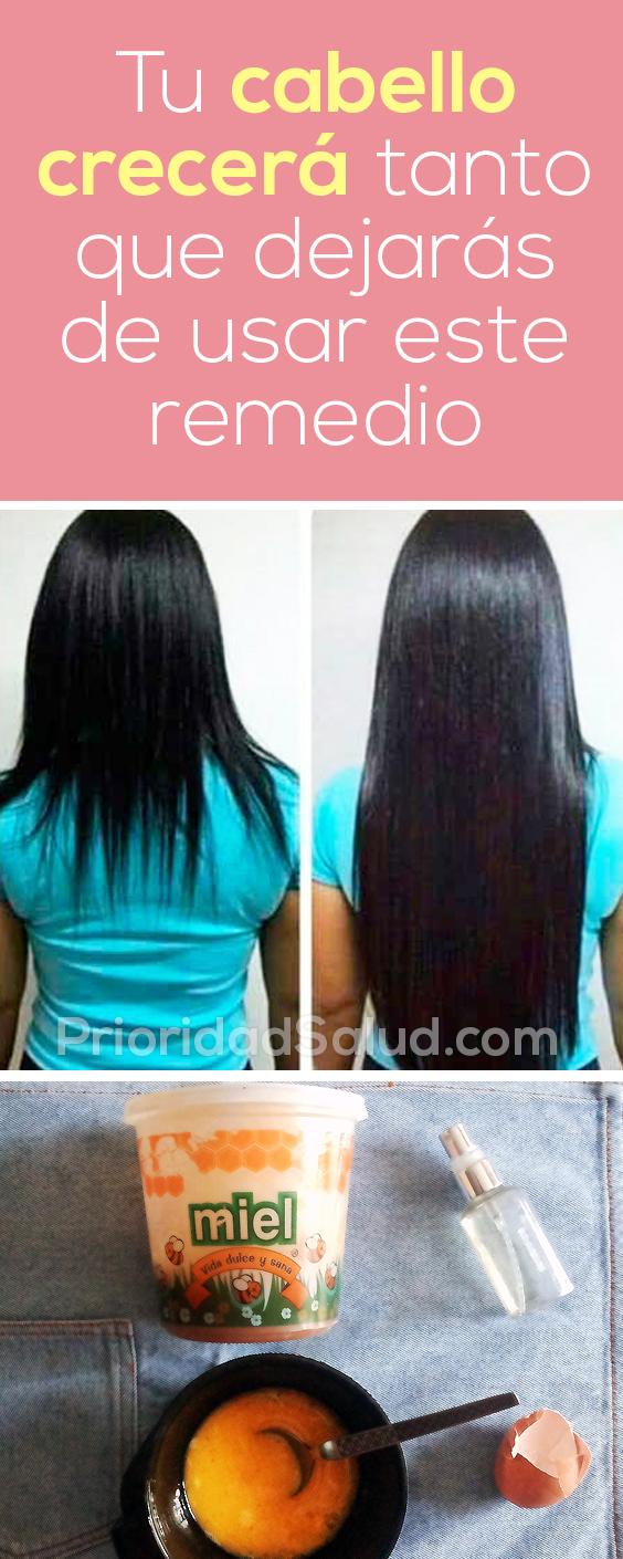 Tu cabello crecerá tanto que dejarás de usar este remedio #pelo #cabello