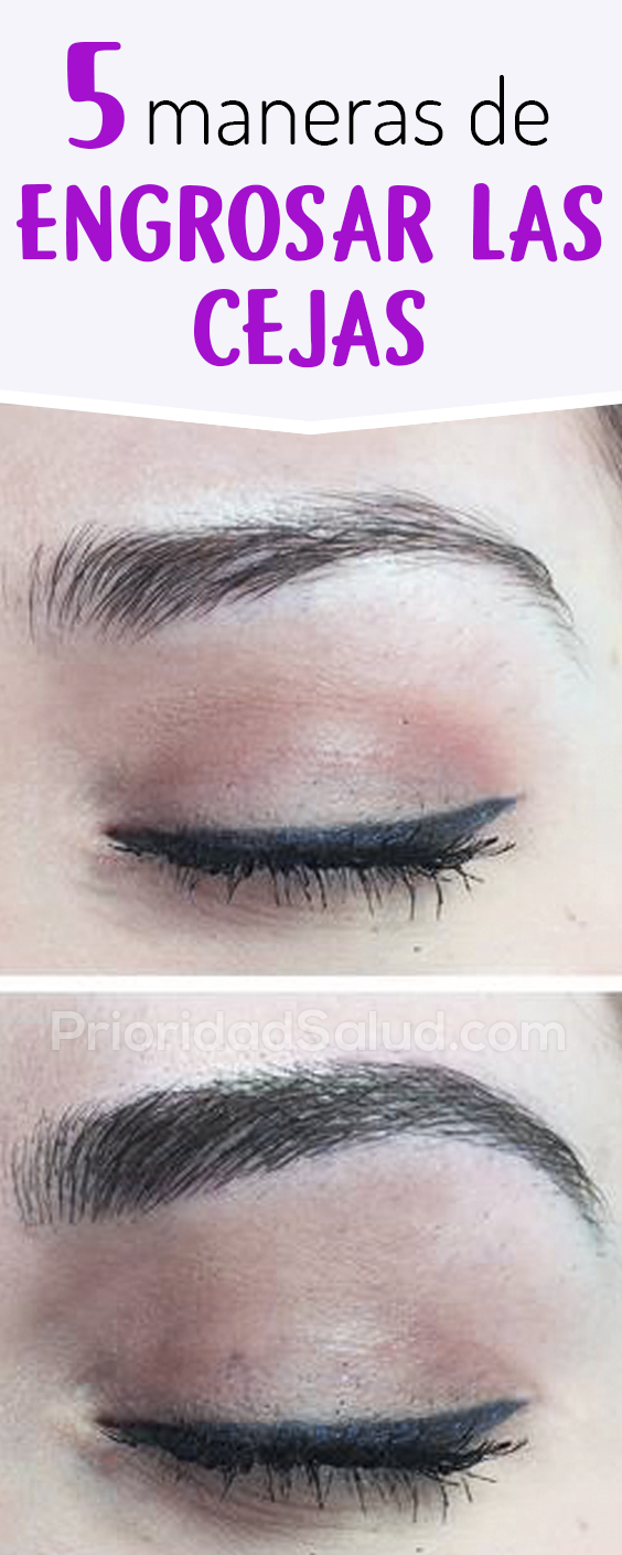 5 tratamientos para engrosar las cejas #cejas #cejasperfectas