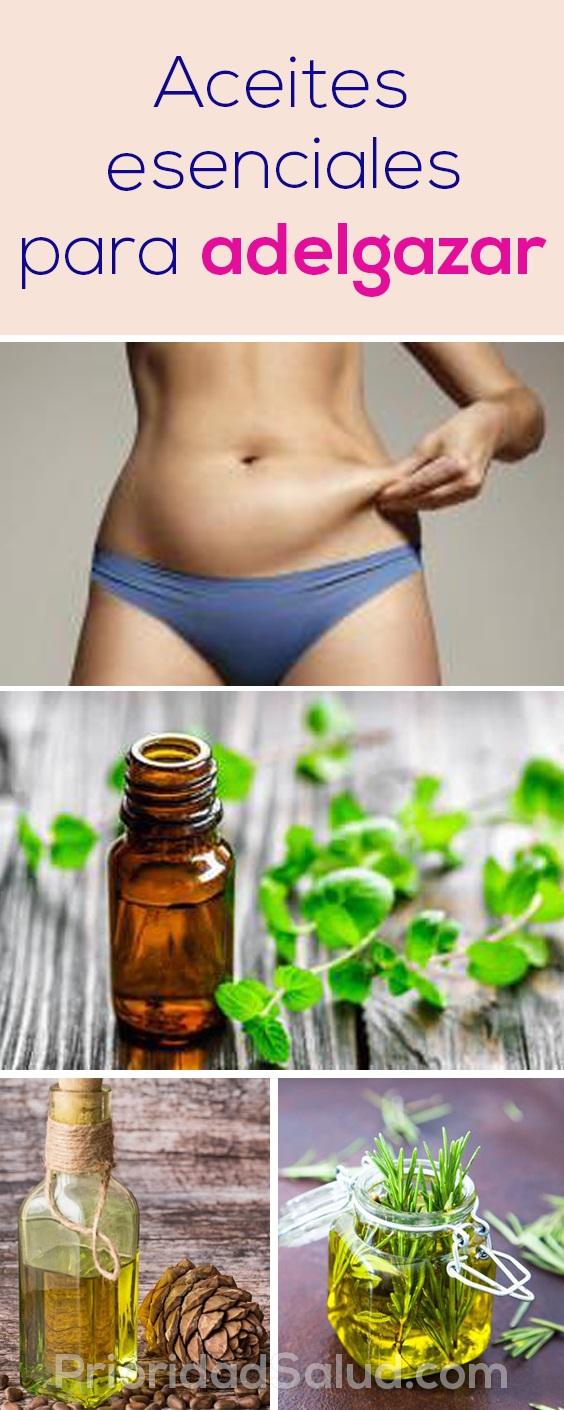 Aceites esenciales para adelgazar
