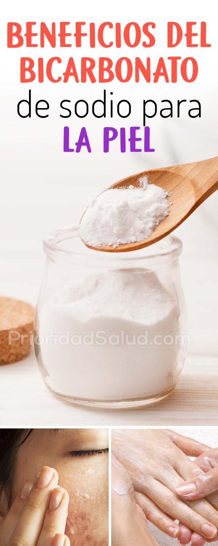 Beneficios del bicarbonato de sodio para la piel