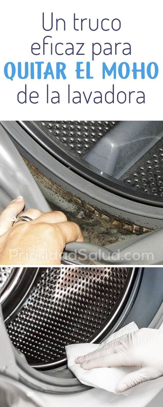 Truco eficaz para quitar el moho de la lavadora, eliminar hongos, baterias #lavadora
