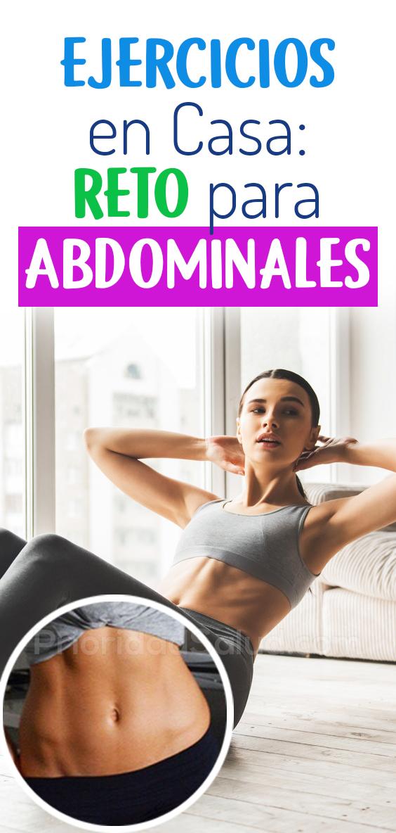 Ejercicios en casa, retos abdominales de 30 dias #fitness #ejercicios